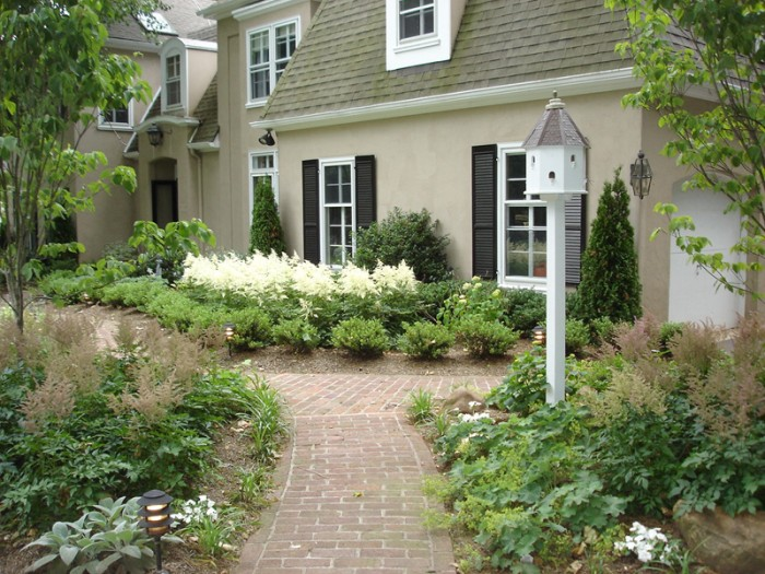 Main Line Formal Garden Design in Berwyn - After