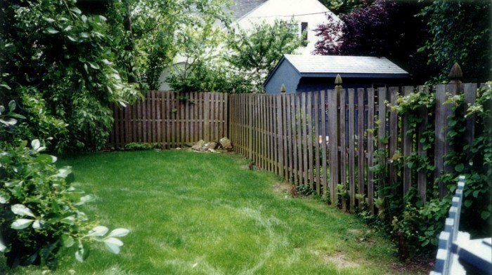 Backyard Designs - Garden in Ardmore - Before