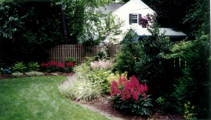Backyard Designs - Garden in Ardmore - After