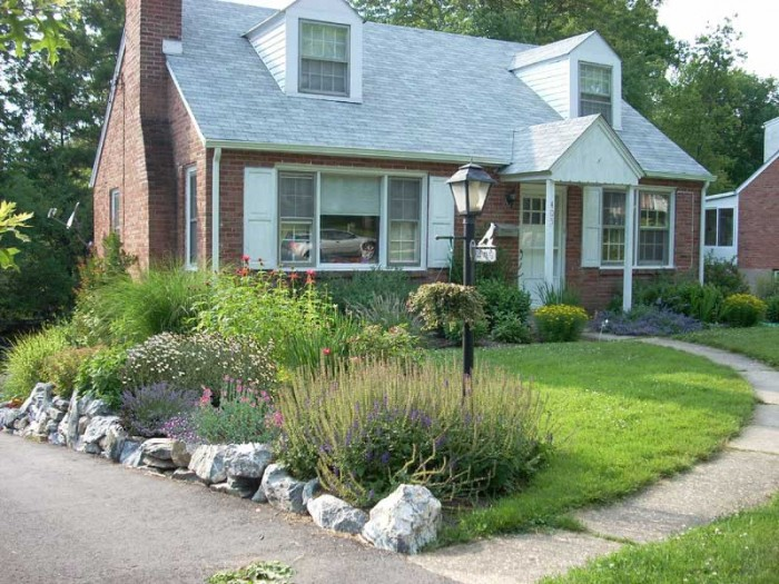 Philadelphia Landscaping - Cottage Garden in Wayne - After