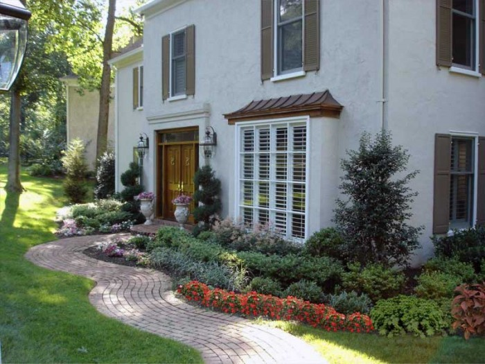 Landscaping Ideas - Formal Garden in Bryn Mawr - After